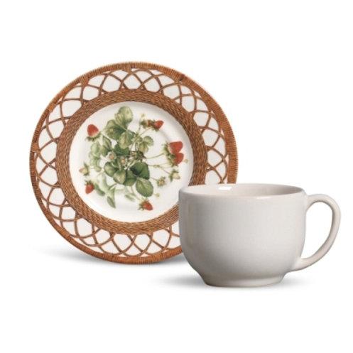 Xícara de Chá Strawberry (6 unidades)