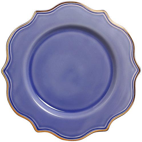 Sousplat Mandarim Azul (6 unidades)