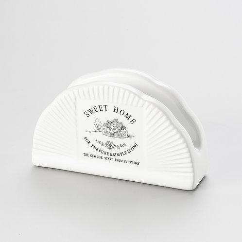 Porta guardanapo de porcelana REF 8136
