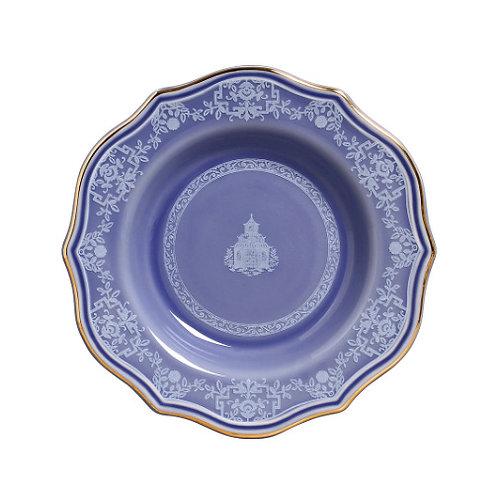 Prato Fundo Mandarim Azul (6 unidades)