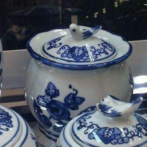Pote de Porcelana Dinastia Ming (14 cm)