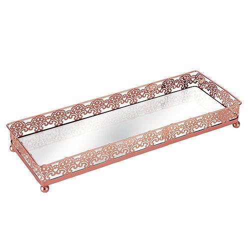 Bandeja cobre e espelho REF 5655