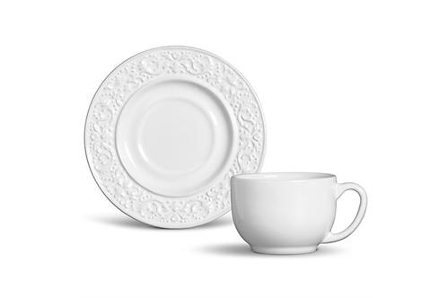 Xícara de Chá Baroque (6 unidades)