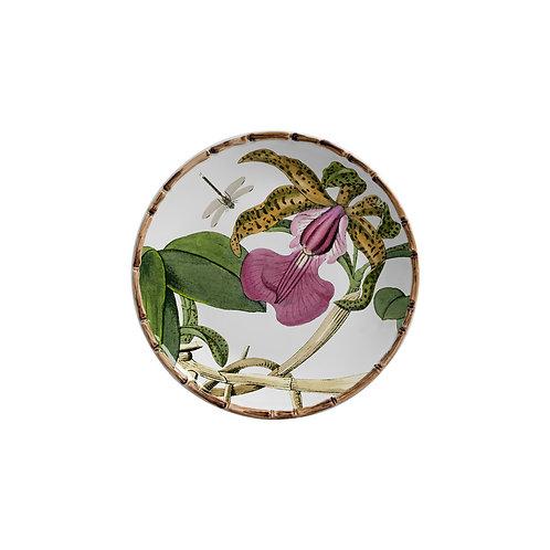 Prato de sobremesa Orquídea (6 unidades)