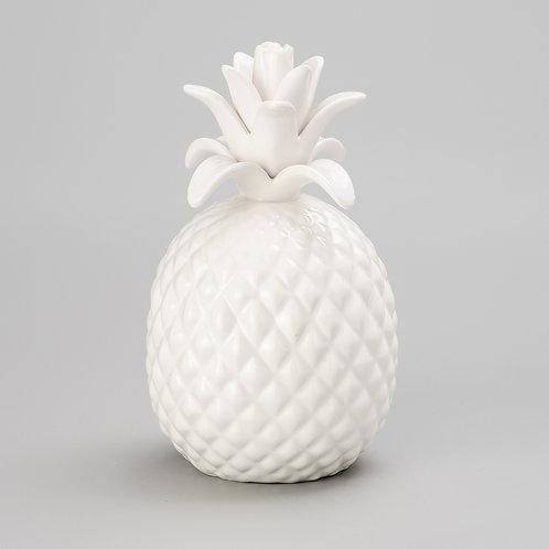 Abacaxi decorativo de cerâmica P REF 3385