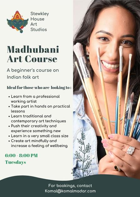 Madhubani Art Course