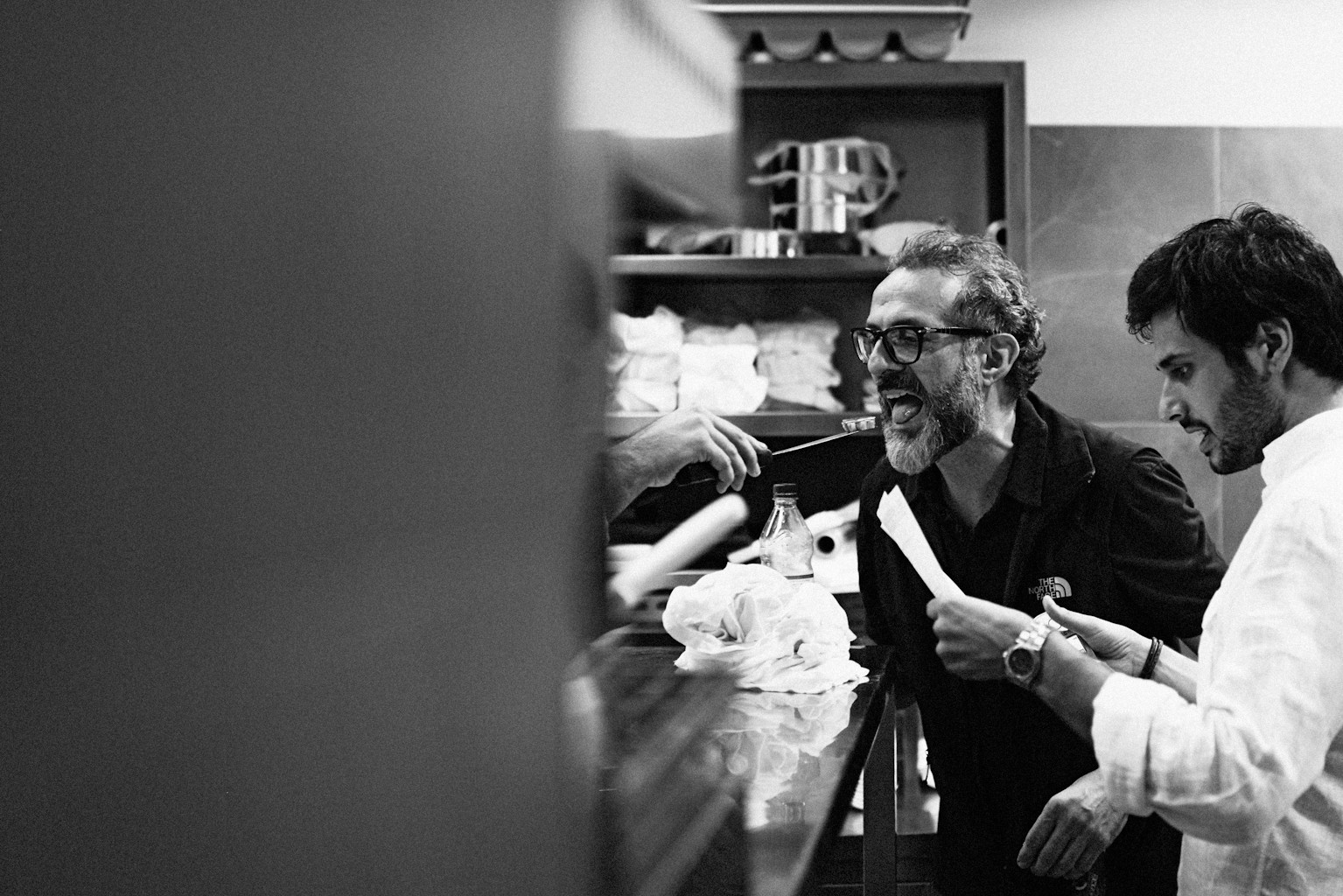 Massimo Bottura at Osteria Francescana