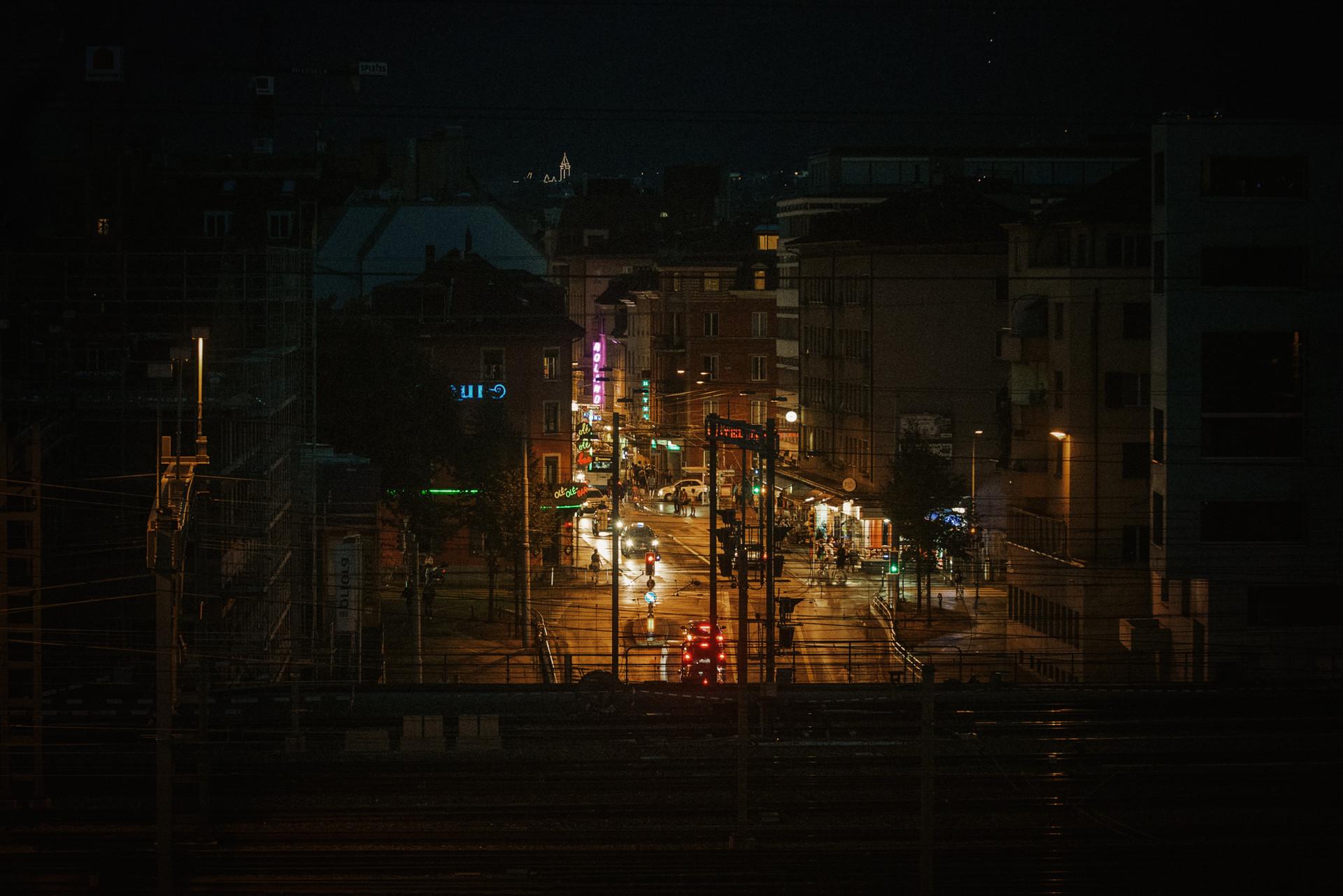 Langstrasse by Night