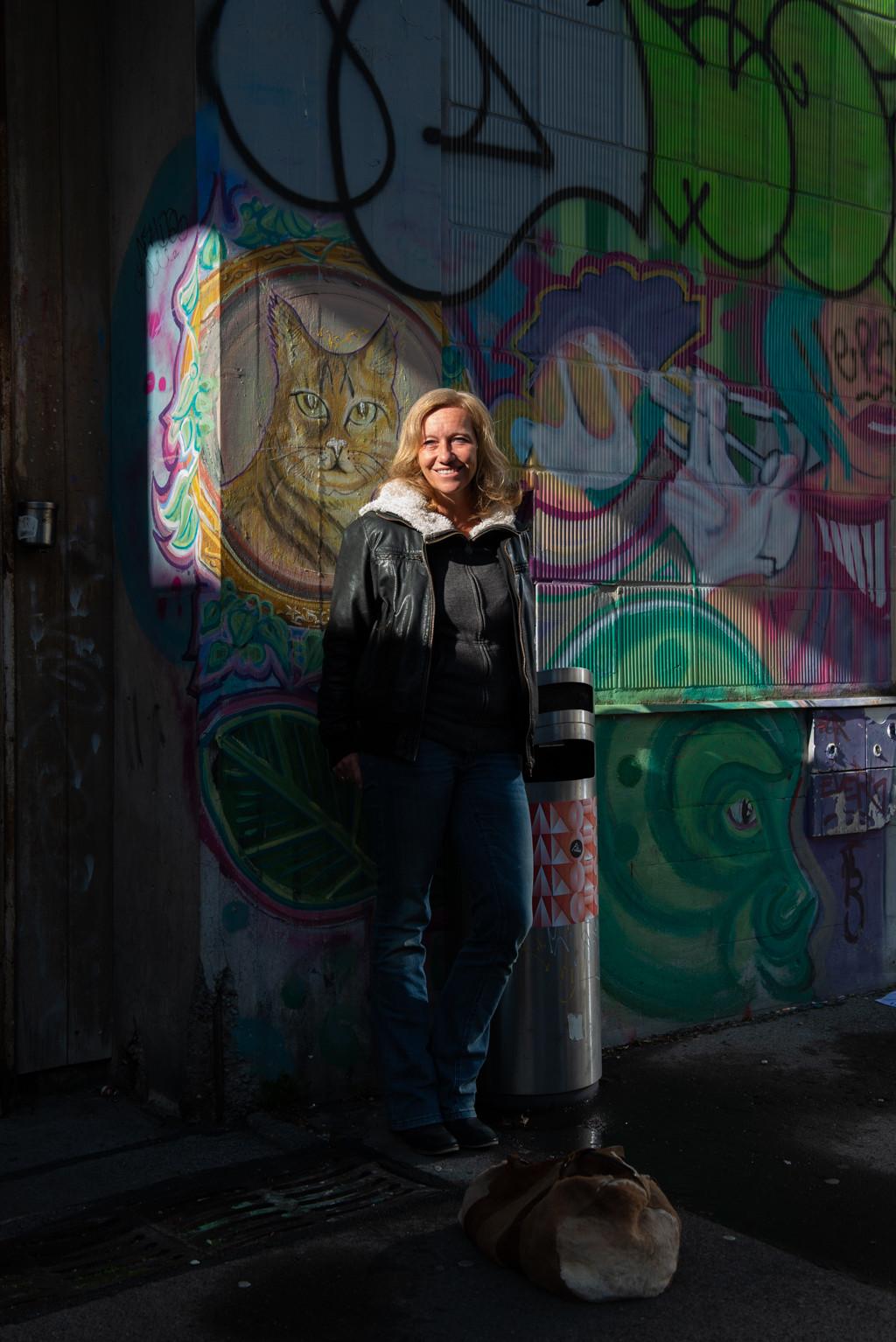 Schriftstellerin Christine Brand