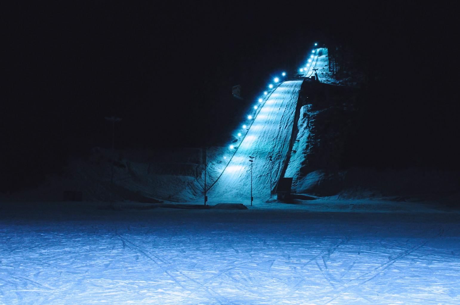 Ski-Jumping Hill