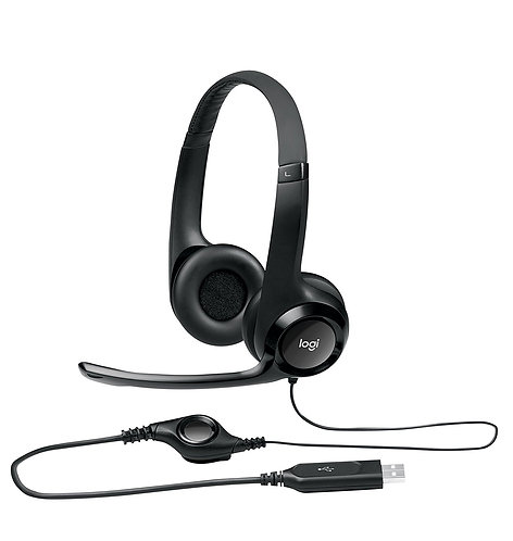 USB Port Headset with Noise Cancelling