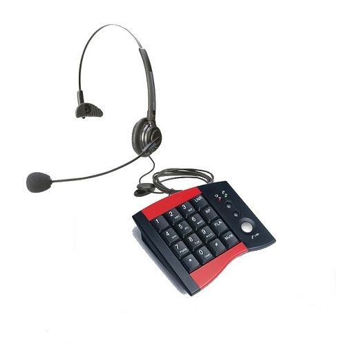 Deluxe Monaural Call Center Headset
