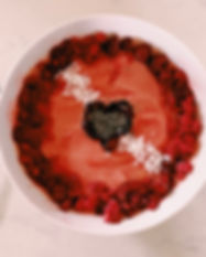 Cupid's pink valentine's day smoothie.jp