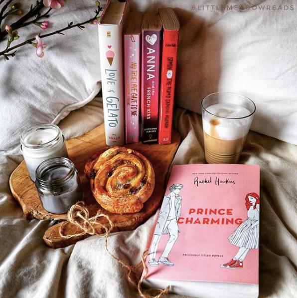 @littlemeadowreads bookstagram photo of Prince Charming by Rachel Hawkins.
