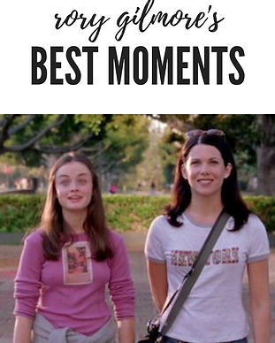 rory gilmore's best moments gilmore girl