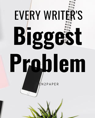 Every Writer's Biggest Problem Pinterest