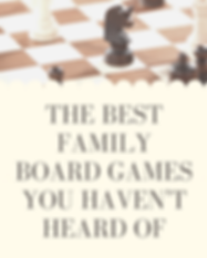 the best family board games you haven't