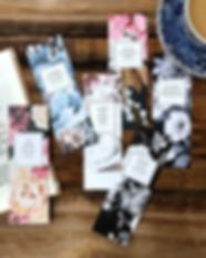 Romantic Poets Bookmark Set Christmas Gi