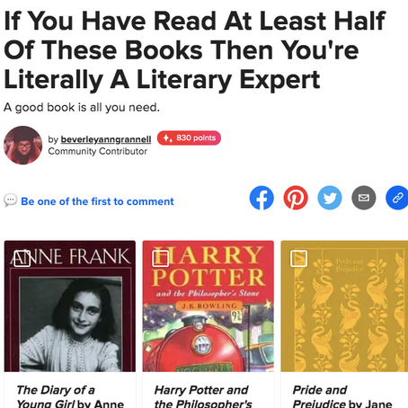 Fun Bookish Quizzes for Your Inner Bookworm