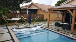 Squared Pool Deck