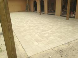 Brick Paver 6x9, Color: White and Sand Stone