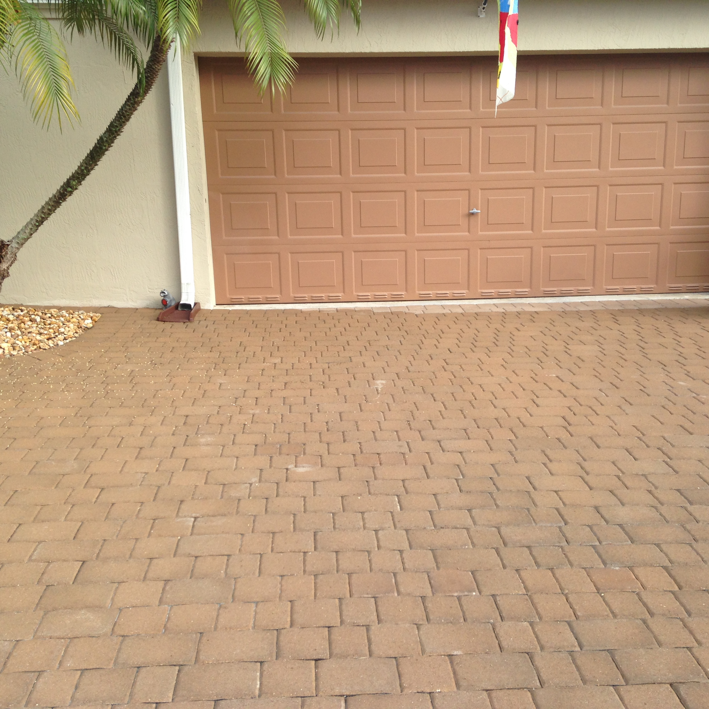 Brick Paver, Color: Tan