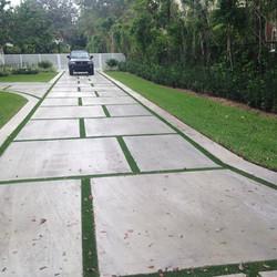 Squared Driveway