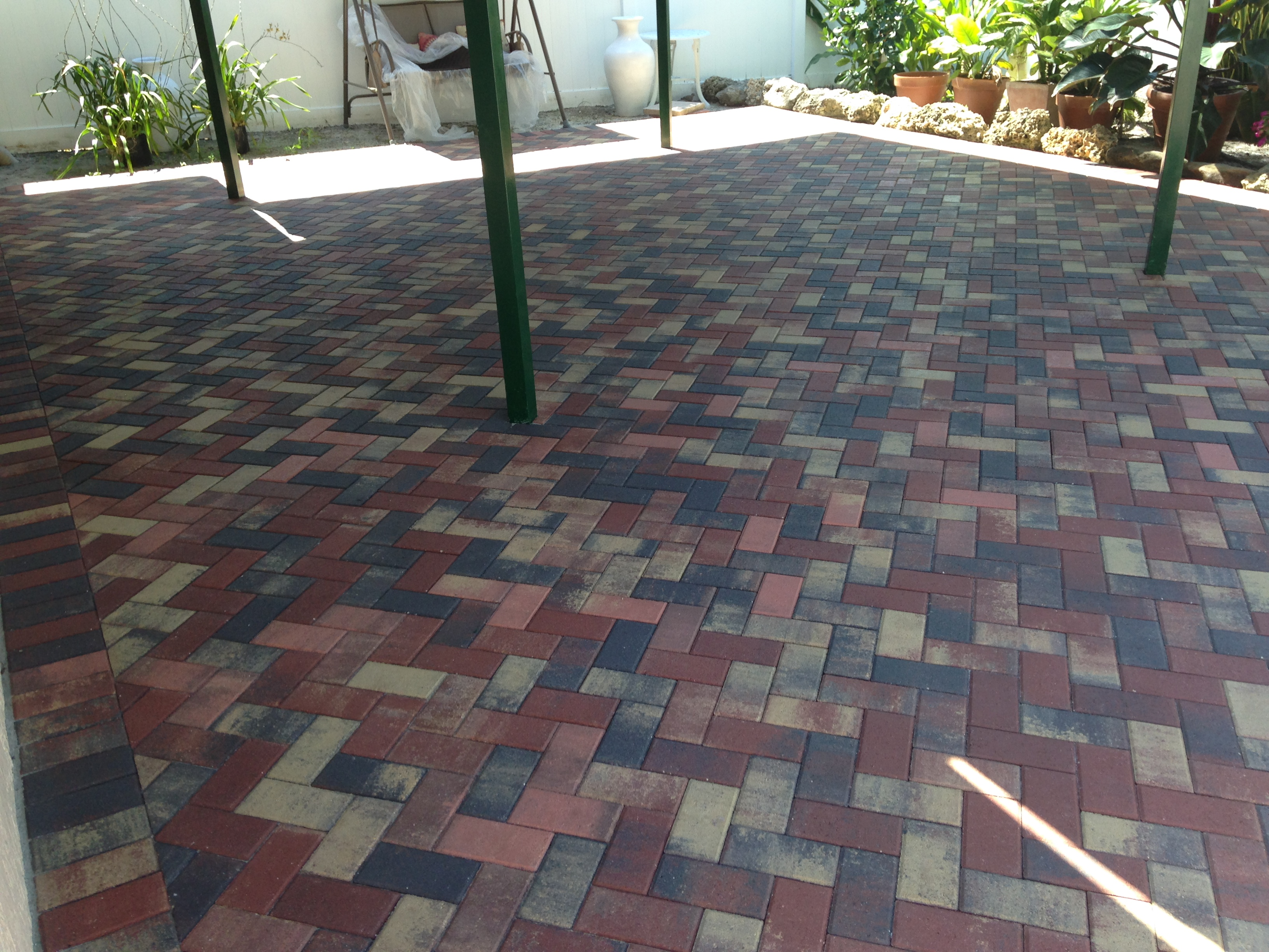 Brick Paver 4x8, Color: Habana