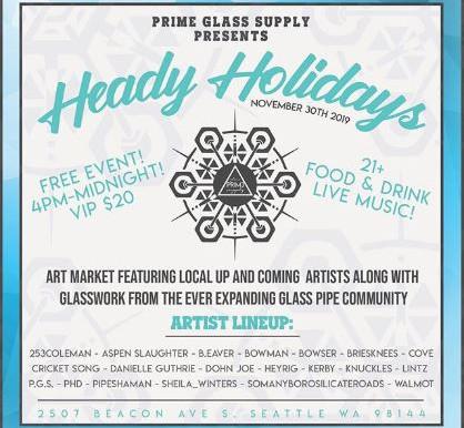 Heady Holidays Event!