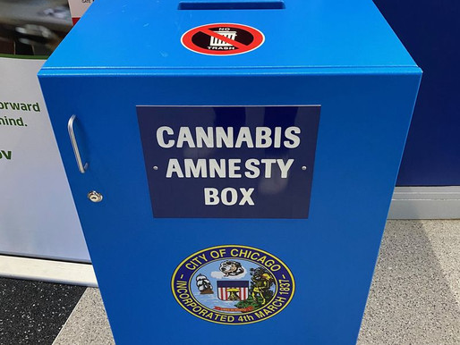 Chicago Airports Install Cannabis Amnesty Boxes