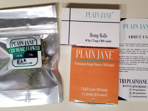 I Tried Plain Jane CBD/Hemp Products!