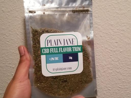 Full Flavor CBD Trim | Try Plain Jane