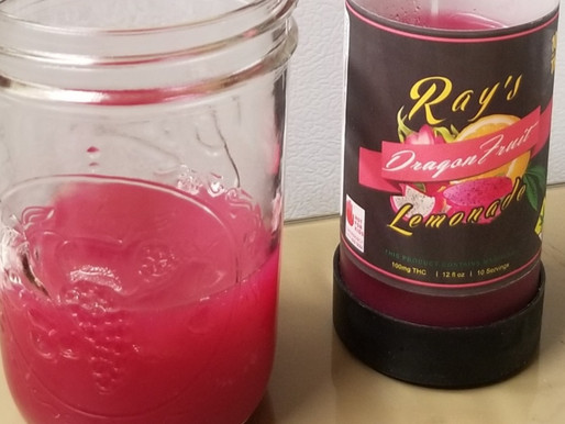 100mg Dragon Fruit Lemonade | Ray's Lemonade