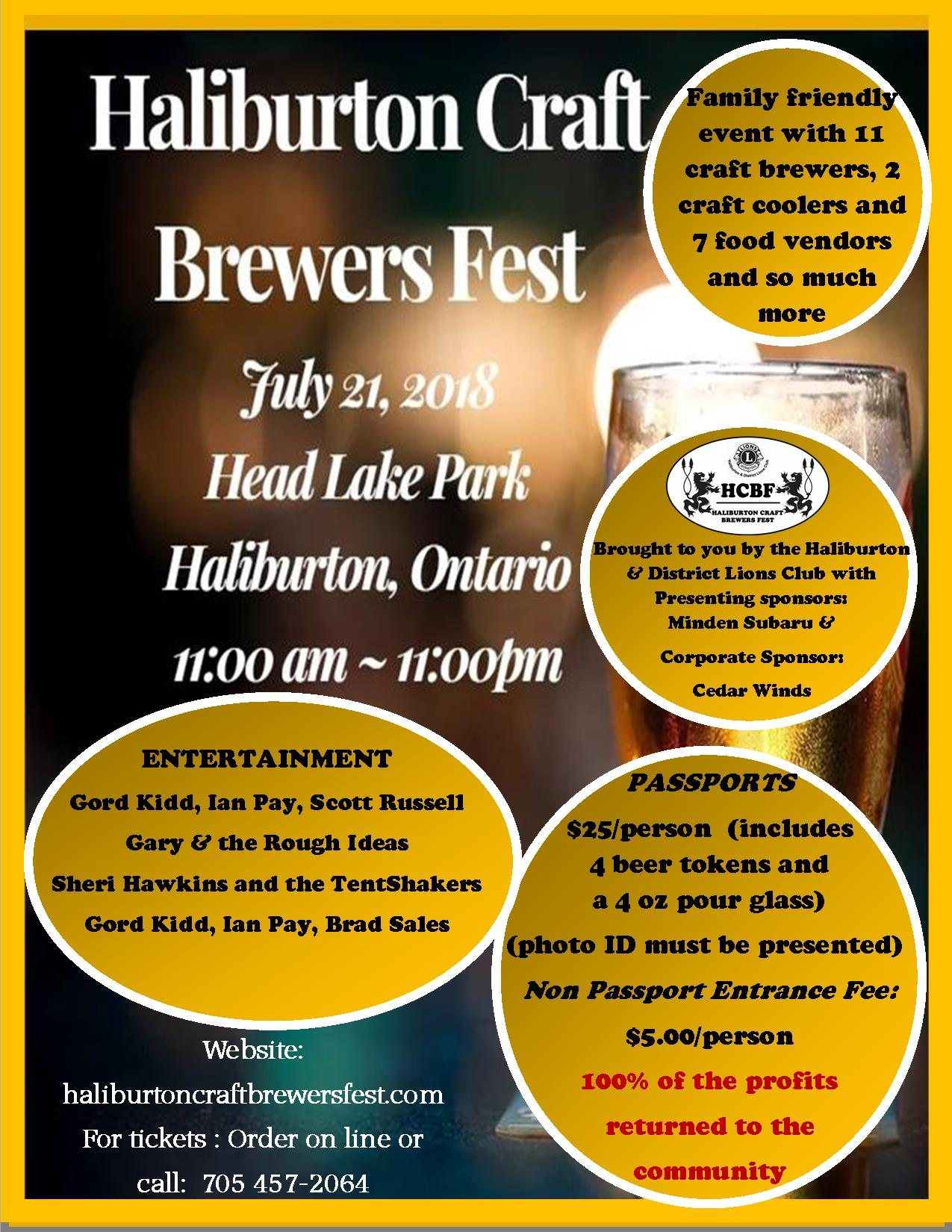 1a  Craft Beer Fest poster