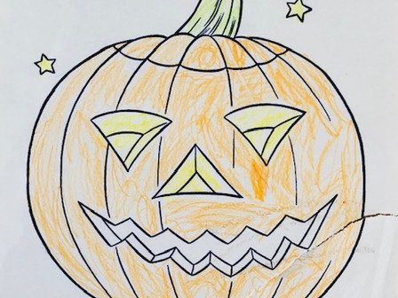 CONGRATULATIONS to our Halloween Colouring Contest Winners!