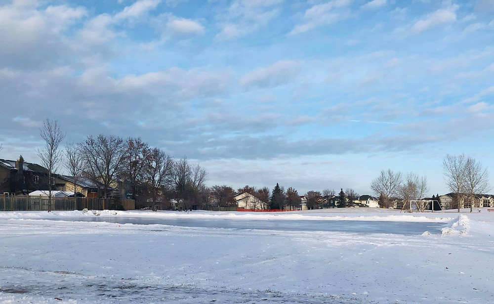 Pop-up Rink in Seigneurie Park