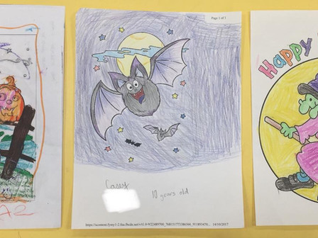 Halloween Colouring Contest