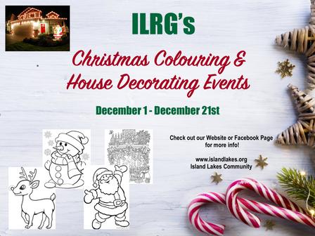 Ho Ho Ho - Colouring & Decorating Events