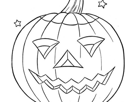 Trick or Treat - Coloring Time!