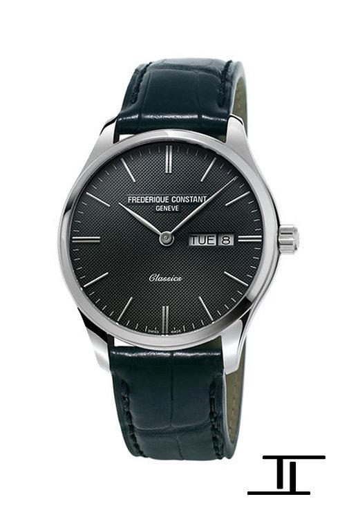 Frederique Constant Classic Quartz Watch Black Dial FC-225GT5B6