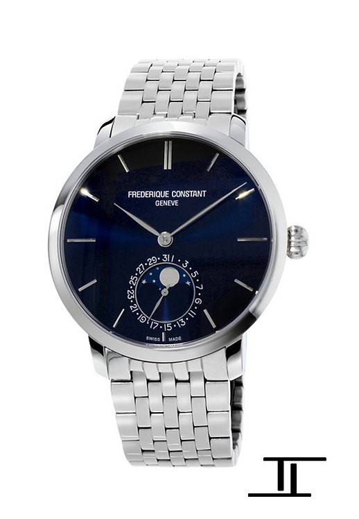 Frederique Constant Manufacture Slimline Moonphase watch FC-705N4S6B