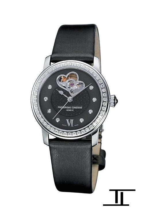 Frederique Constant Heart Beat Ladies Automatic Watch Diamonds FC-310BDHB2PD6