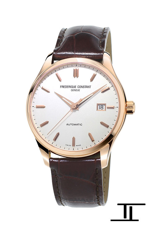 Frederique Constant Classics Index Automatic Men's Watch Gold Plated FC-303V5B4