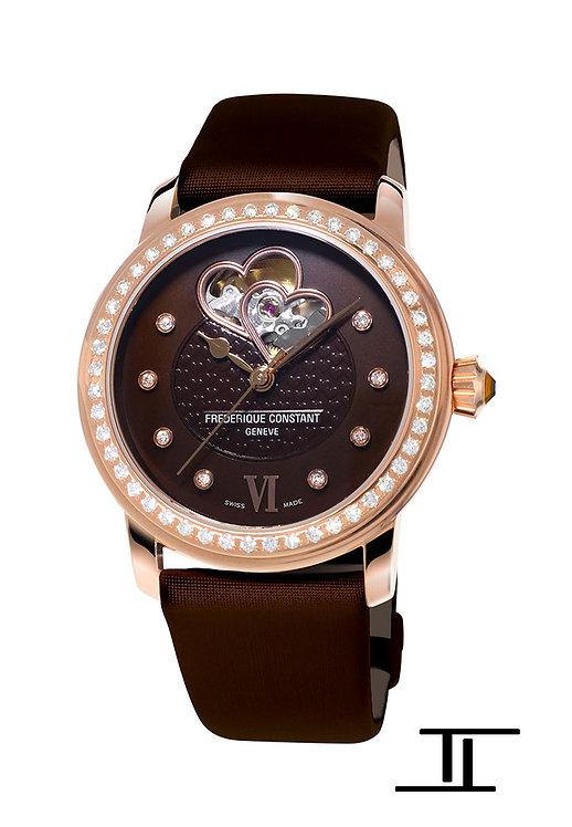Frederique Constant Double Heart Beat Ladies Automatic Watch FC-310CDHB2PD4