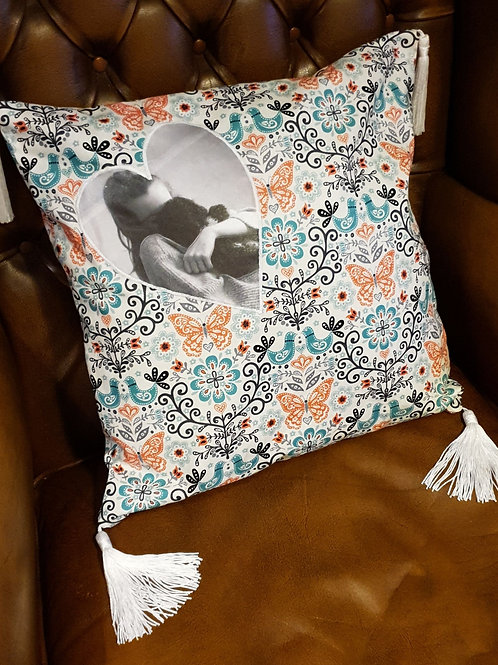 Personalised Cushion with Photo or Text