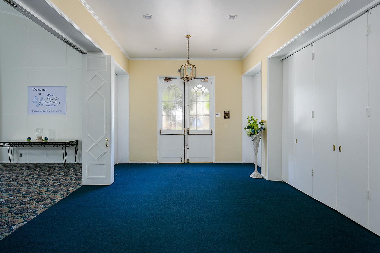 Ahiah Lobby and Front Door