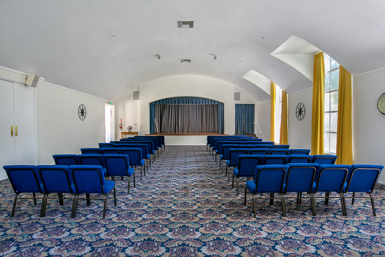 Ahiah Hall Theatre Style