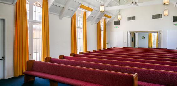 Sanctuary Pulpit View 2