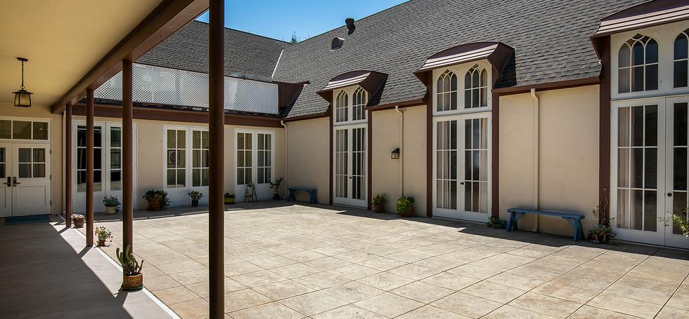 Ahiah Courtyard
