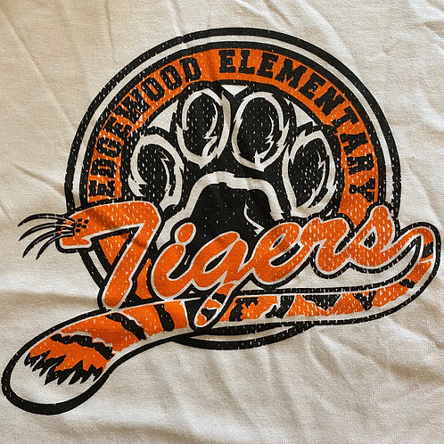 White Edgewood Tigers T-Shirt - Youth & Adult